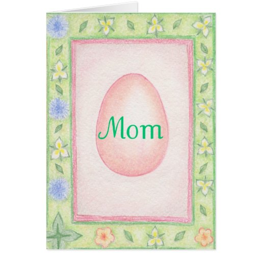 Easter Card Mom