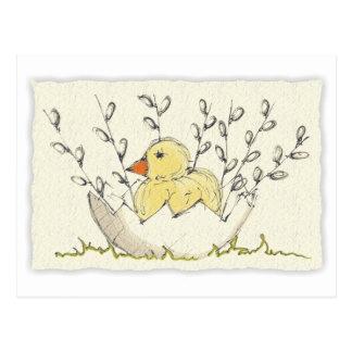 Easter card postcard