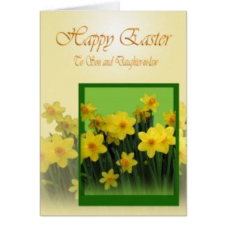 Easter Card to Son and Daughter-in-law