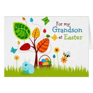 Easter Card Tree Eggs for Grandson