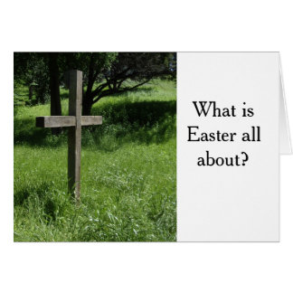 Easter Card with Gospel Message
