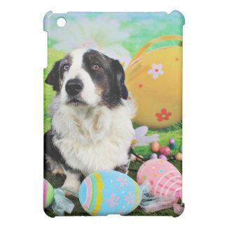 Easter - Cardigan Corgi - Teddy iPad Mini Cover