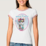 Easter Cat Happy Easter T-Shirt