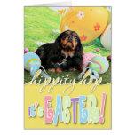 Easter - Cavalier King Charles Spaniel - Charlie Greeting Card