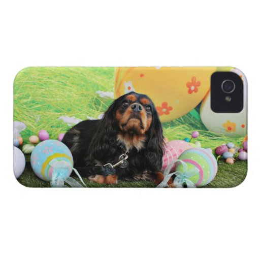 Easter - Cavalier King Charles Spaniel - Charlie iPhone 4 Case-Mate Case