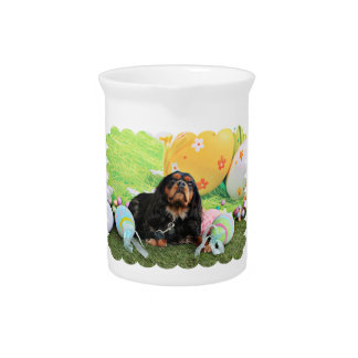 Easter - Cavalier King Charles Spaniel - Charlie Pitchers