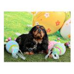 Easter - Cavalier King Charles Spaniel - Charlie Post Card