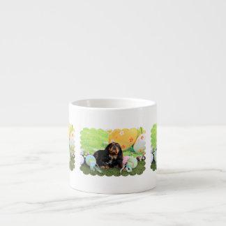 Easter - Cavalier King Charles Spaniel - Charlie 6 Oz Ceramic Espresso Cup