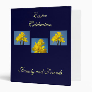 Easter Celebration Album binder Family Friends