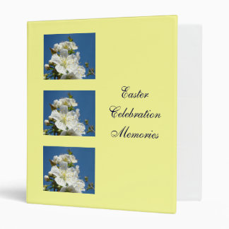Easter Celebration Memories binder photos Blossoms