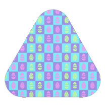 Easter Checkerboard Pattern Bluetooth Speaker