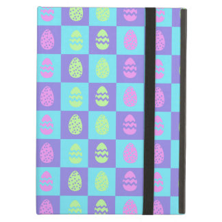 Easter Checkerboard Pattern iPad Air Case