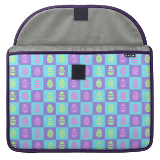 Easter Checkerboard Pattern MacBook Pro Sleeve