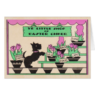 Easter Cheer Scotty Card