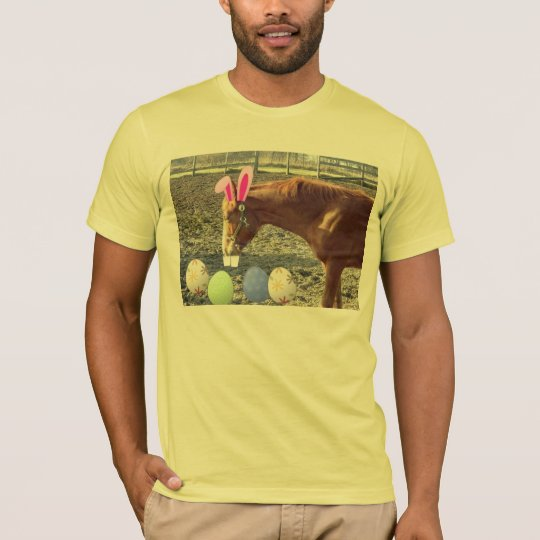 Easter Chestnut Colored Horse T-Shirt
