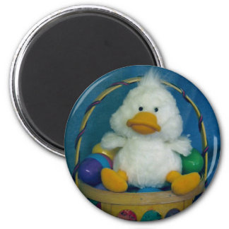 Easter Chick 2 Inch Round Magnet