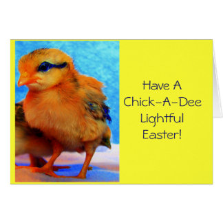Easter Chick-A-Dee-Light