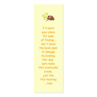 Easter chick and painted egg Double-Sided mini business cards (Pack of 20)