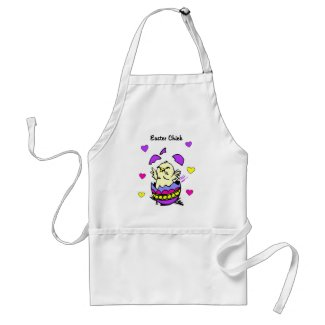 Easter Chick Aprons