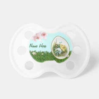 Easter Chick Baby Pacifier