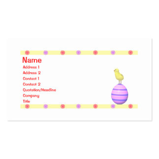 Easter Chick - Business Business Card