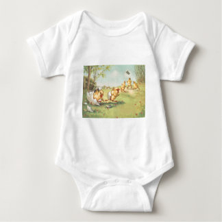 Easter Chick Butterfly Farmyard Shirt