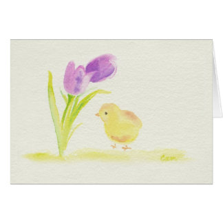 Easter Chick Card