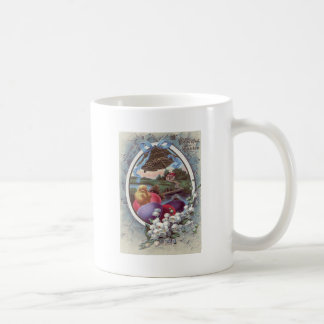 Easter Chick Colored Egg Lily of The Valley Coffee Mug