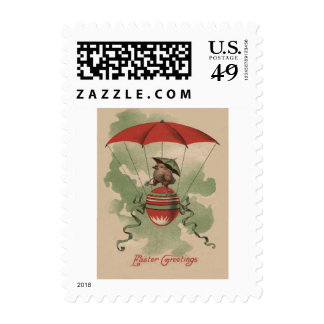 Easter Chick Colored Egg Umbrella Parachute Postage