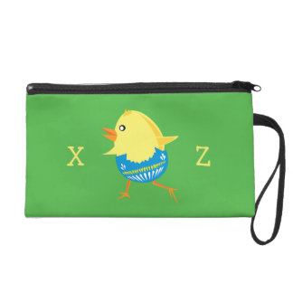 Easter Chick custom accessory bags