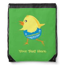 Easter Chick custom bag