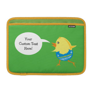 Easter Chick custom device sleeves