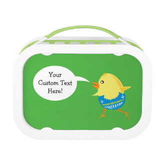 Easter Chick custom lunch box