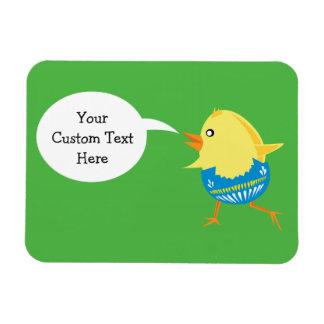 Easter Chick custom magnet