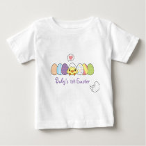 Easter Chick - Custom Text Baby T-Shirt