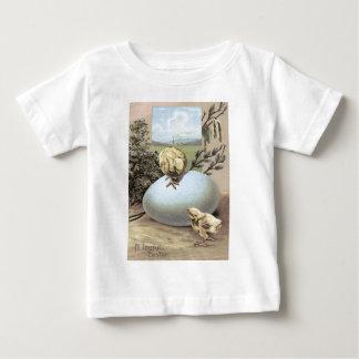 Easter Chick Egg Cotton Tee Shirt