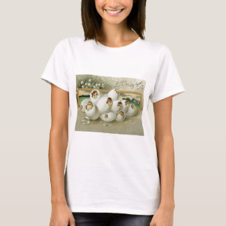 Easter Chick Egg Flower Hatching T-Shirt