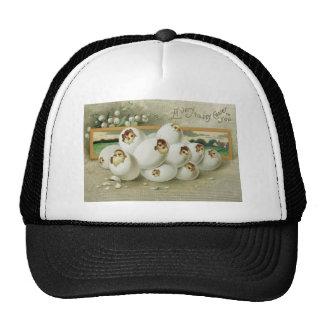 Easter Chick Egg Flower Hatching Trucker Hat
