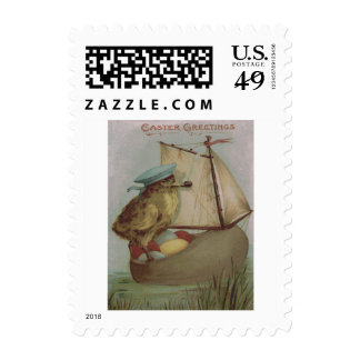 Easter Chick Egg Sail Ship Shoe Postage