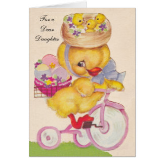 Easter Chick Greeting Card
