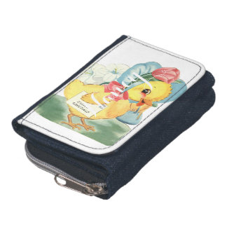 Easter Chick Greetings Wallet
