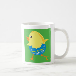Easter Chick Hatching and Walking Coffee Mug
