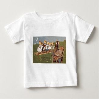 Easter Chick Hen Choir Baby T-Shirt