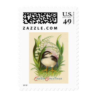 Easter Chick Lily Of The Valley Postage