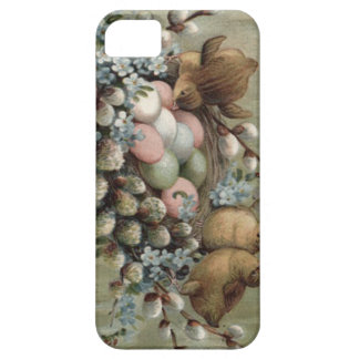 Easter Chick Nest Colored Egg Forget-Me-Nots iPhone SE/5/5s Case