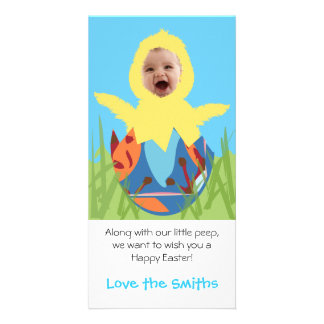 Easter Chick - Photo Card