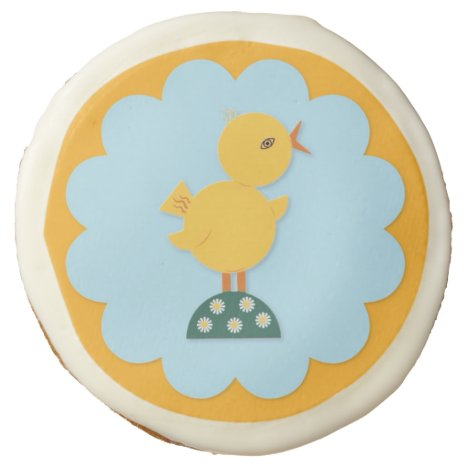 Easter Chick Photo Sugar Cookies