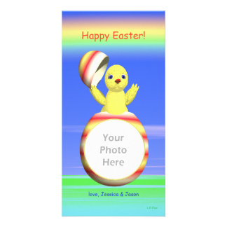Easter Chick Pop-up Card