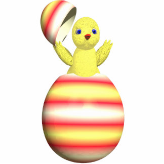 Easter Chick Popup Cutout
