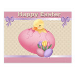 Easter Chick - Postcard
